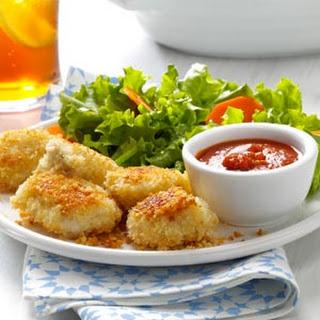 Parmesan Chicken Nuggets.