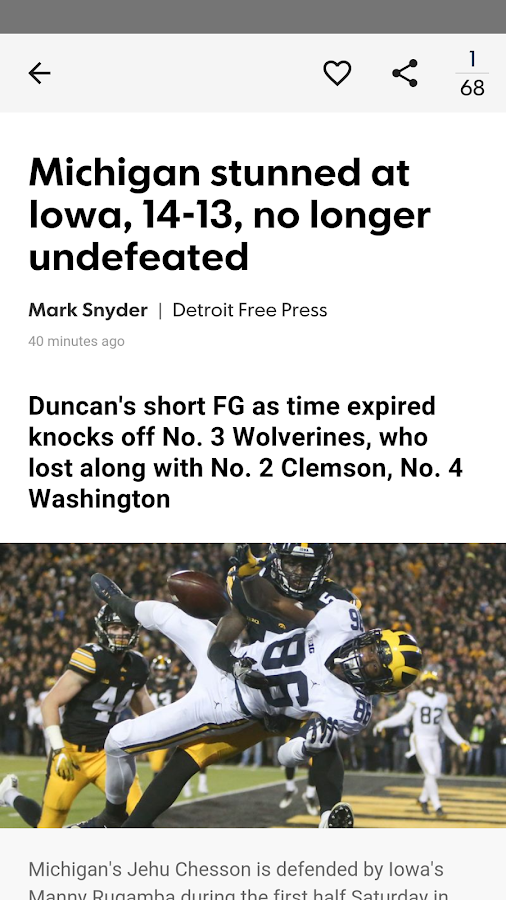 Wolverines XTRA- screenshot
