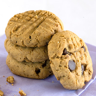 Banana & Peanut Butter Flaxseed Cookies