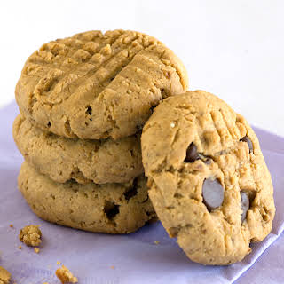 Banana & Peanut Butter Flaxseed Cookies.