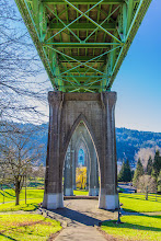 Photo: St. Johns Bridge at Cathedral Park