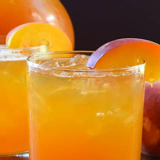 Peach Whiskey Iced Tea.