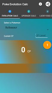 Poke Evolution Calc- screenshot thumbnail