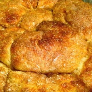 Easy Cinnamon Sugar Pull Apart Bread.