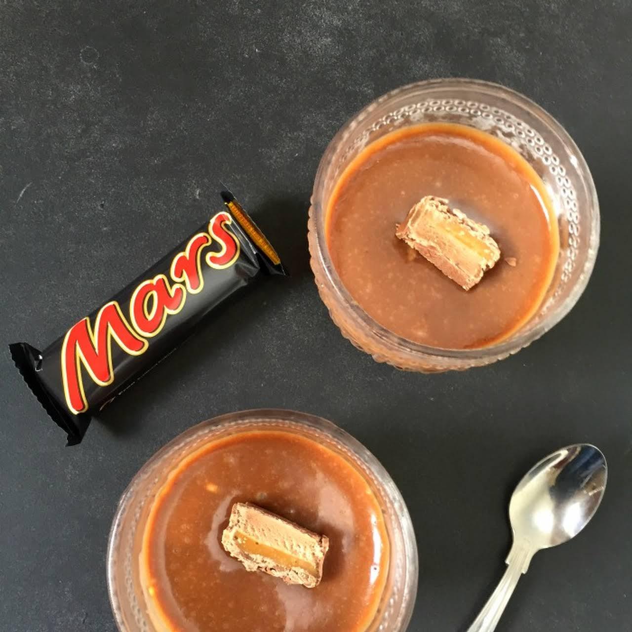 2 Ingredient Mars Bar Mousse