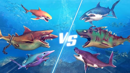 Double Head Shark Attack - Multiplayer APK screenshot thumbnail 3