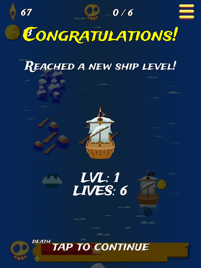 Pirate Ship Endless Sailing- screenshot
