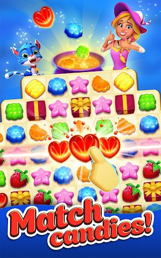 Crafty Candy – Match 3 Magic Puzzle Quest screenshot 1