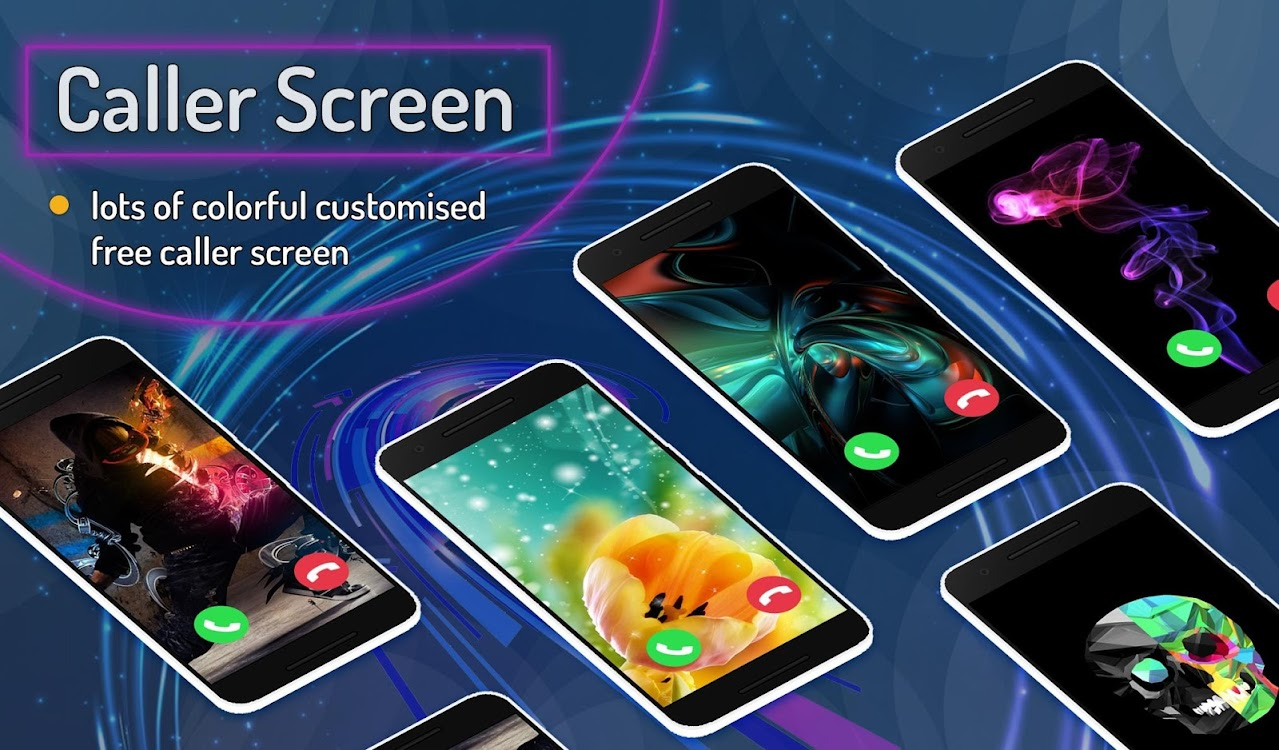 Color Call Phone Screen Themes - Call Flash Alert – (Android