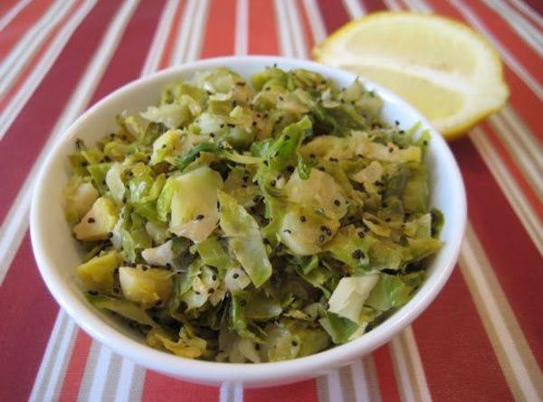 Sherry's You'll Never Hate 'em Again Brussel Sprouts Recipe