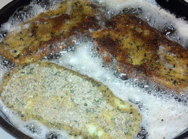 fry about 3-5 minutes in batches, place on paper towels to absorb excess oil