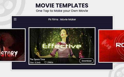PK Film : Movie Maker, Be Your Own Movie Director 2.1 screenshots n 2