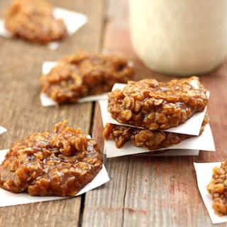 Healthy Pumpkin Spic No-Bake Cookies