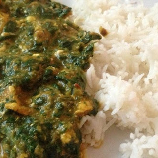 Chicken Saag.