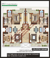 Floor Plan of Omaxe Celestia Mullanpur