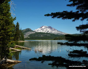 Photo: South Sister from Sparks Lake, Cascade Lakes Highway