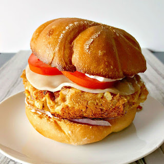 The Other White Meat Burger