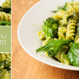Pasta with Broccoli and Parsley Pesto