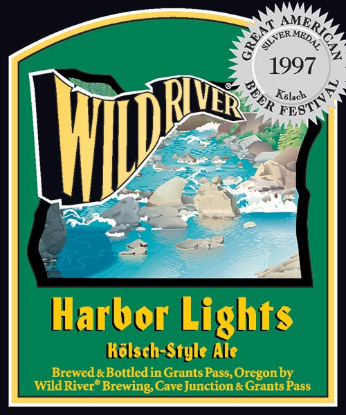 Logo of Wild River Harbor Lights Kolsch-Style Ale