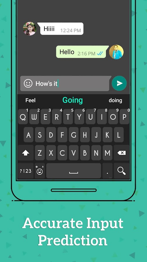 Emoji Android keyboard- screenshot