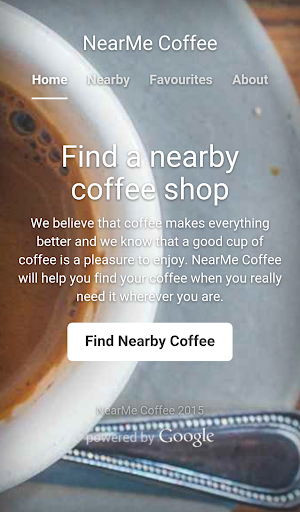 NearMe Coffee