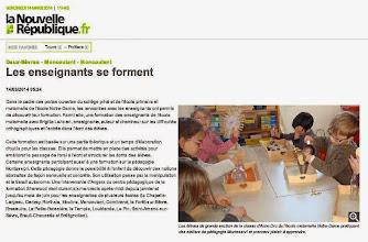 Photo: 2014-03-14 NR Les enseignants se forment