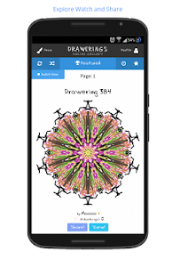 Kaleidoscope Mandala Drawings!- screenshot thumbnail
