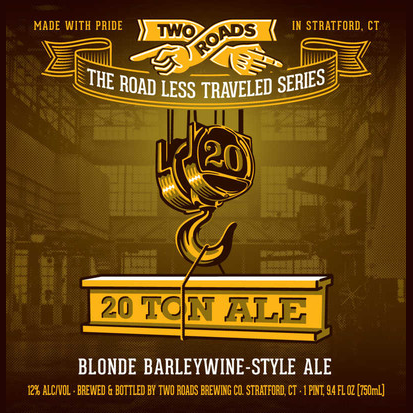 Logo of Two Roads 20 Ton Blonde Barleywine