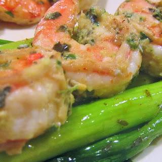 Herbed Shrimp.