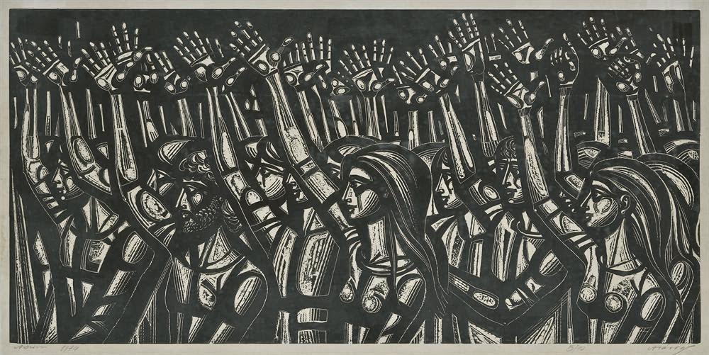 Περιγραφή: Αναδρομική έκθεση του Α. Τάσσου ( 1914 – 1985 ) στο Μουσείο ...