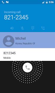 Caller Finder - náhled