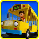 Wheels On The Bus Nursery Rhyme & Song For Toddler icon