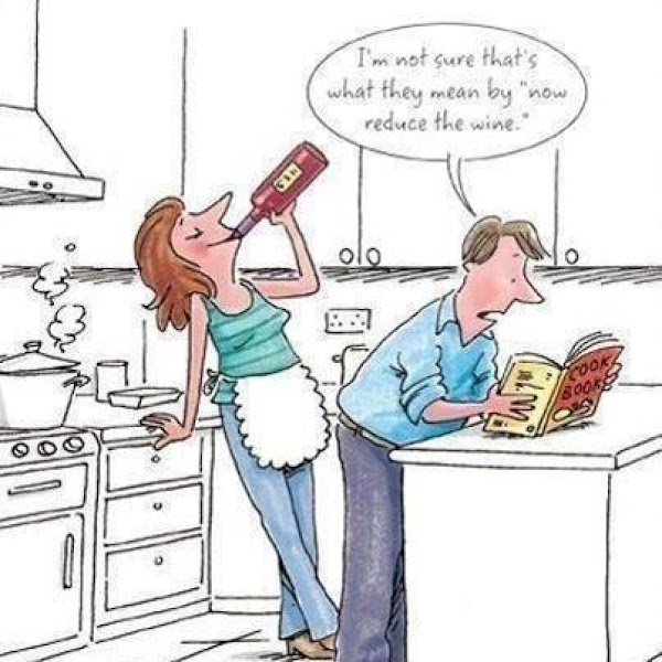 Cooking With Wine (sallye) Recipe