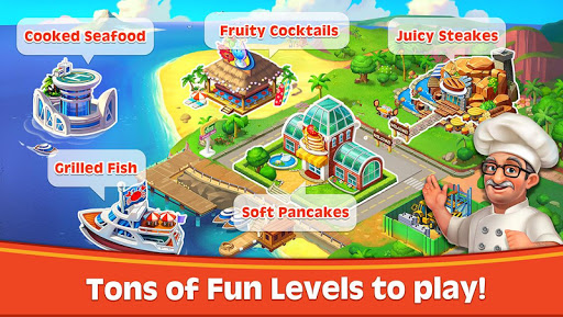 Cooking Rush - Chef's Fever Games  screenshots 2