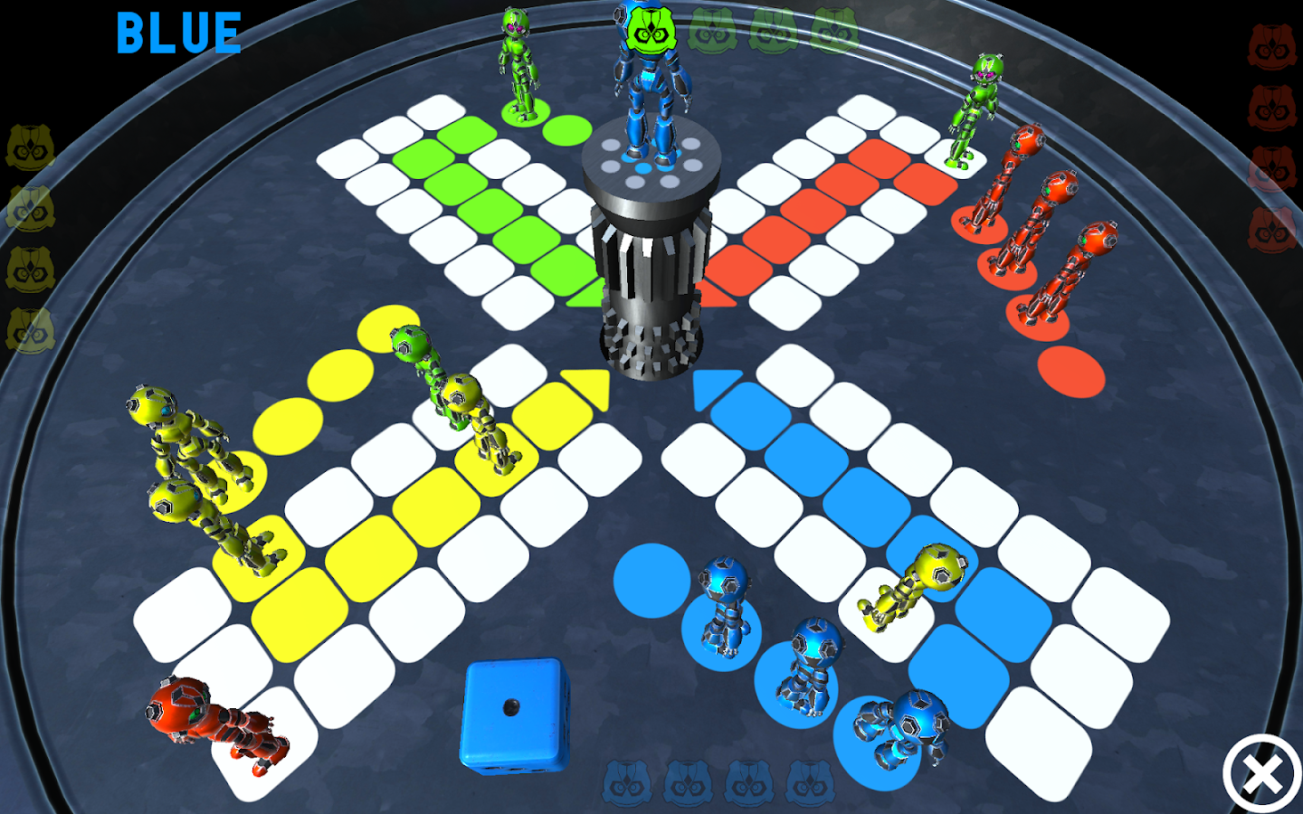 Robot Ludo- screenshot