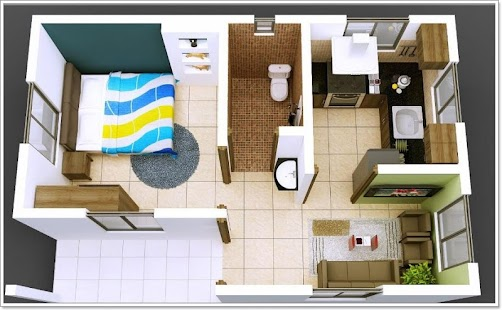 3D Small House Layout Design - Android Apps on Google Play