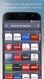 Mexican Newspapers- screenshot thumbnail