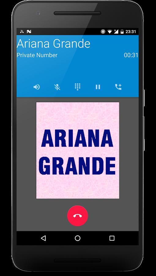 Estremamente Ariana Grande Prank Call - Android Apps on Google Play AC11