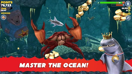 Hungry Shark Evolution APK screenshot thumbnail 8