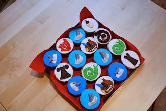 Photo: Zelfs op cupcakes prijkten figuren van Annemarie.