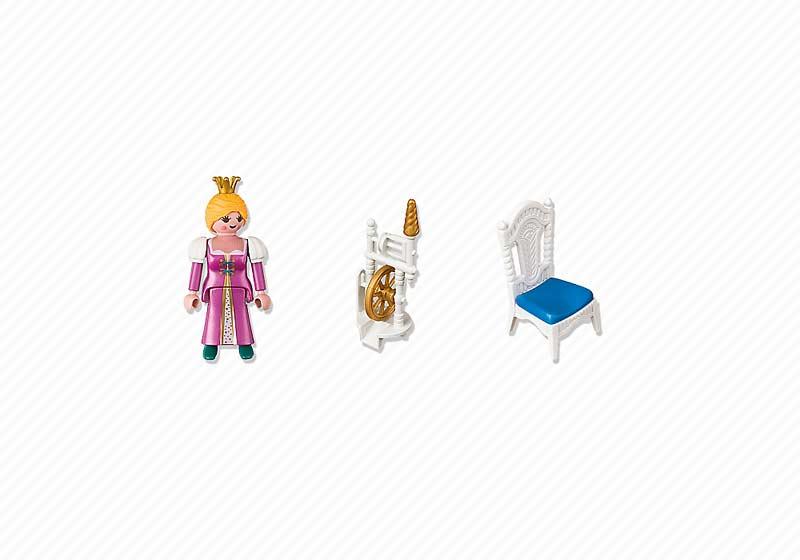 Contenido de Playmobil® 4790 Princesa con Rueca de Hilar