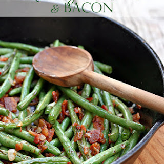 Skillet Green Beans & Bacon.