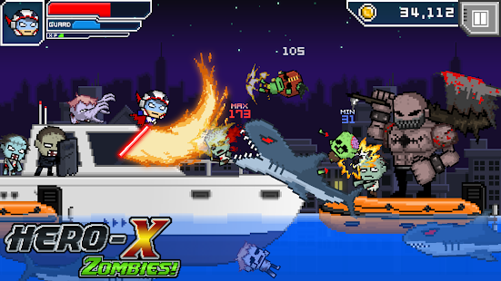 HERO-X: ZOMBIES!- screenshot thumbnail