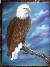 "Photo: Eagle 18"" x 24"" oil on canvas.  $399.00"