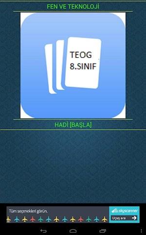 android FEN VE TEKNOLOJİ (TEOG)8.SINIF Screenshot 0
