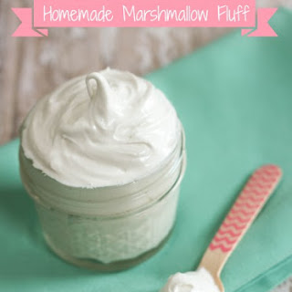 Homemade Marshmallow Fluff.