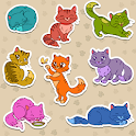 Cats stickers for free 2020 icon