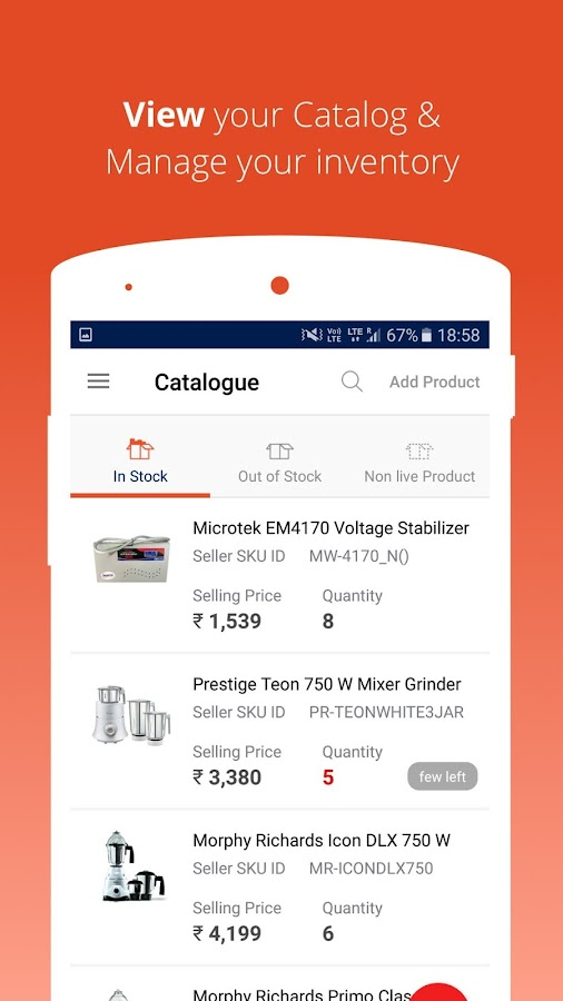 Paytm Mall Store Manager- screenshot