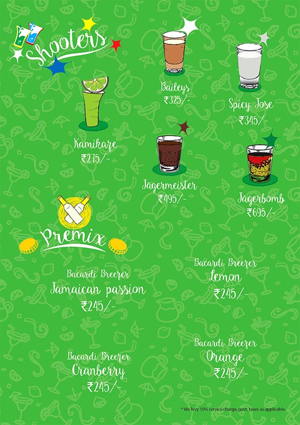 The Beer Cafe menu 9