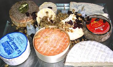 Photo: plateau de fromages